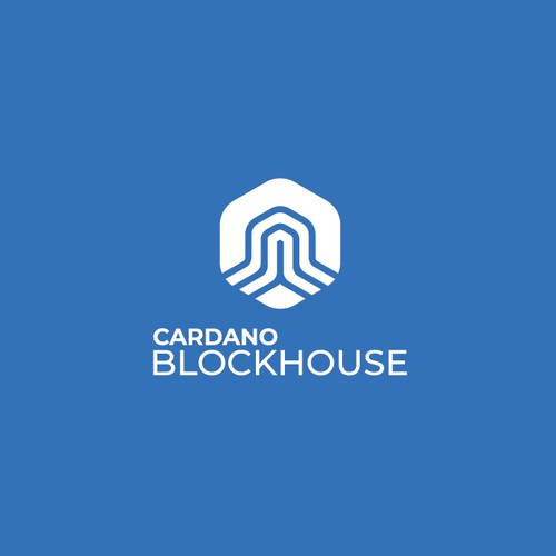 Server design with the title 'Cardano Blockhouse'