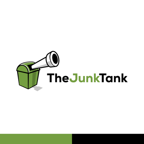 Tank design with the title 'The Junk Tank'