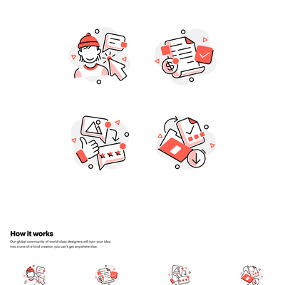 How it works icons