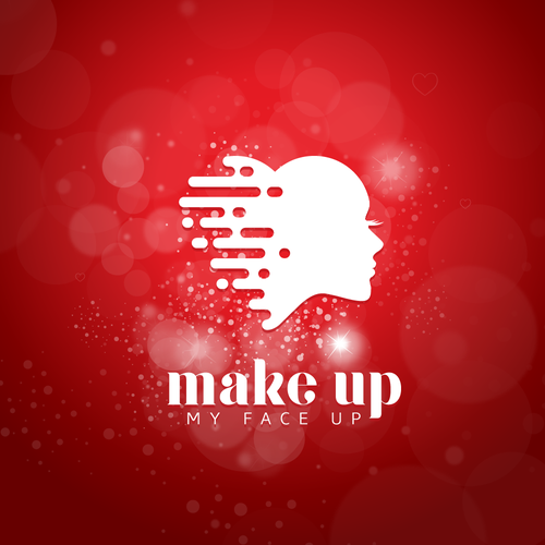 Woman face logo with the title 'Logo for a beauty company '