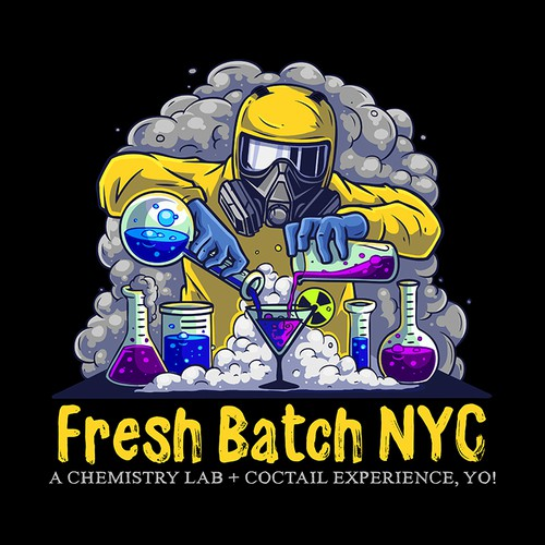 Chemistry design with the title 'Fresh Batch'