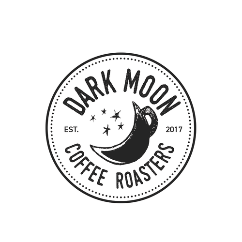 Coffee cup logo with the title 'Logo for coffee roaster'