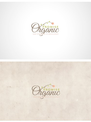 Branch logo with the title 'Logo for organic/cosmetic company'