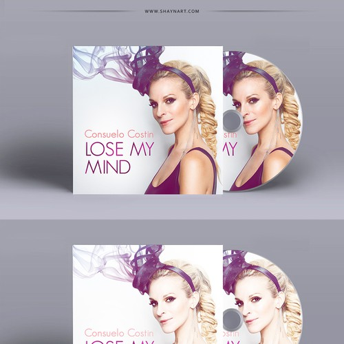 Artist illustration with the title 'Single Cd Cover for Billboard Recording Artist'