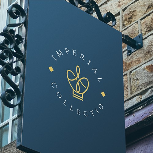 Eye-catching logo with the title 'Logo design for Imperial Collectio'