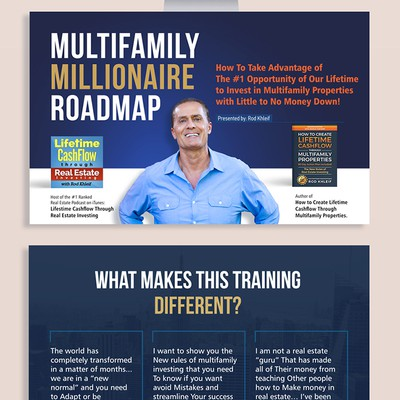 Multifamily Millionaire Presentation Customozation