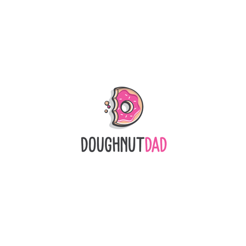 Dad design with the title 'Doughnut Dad'
