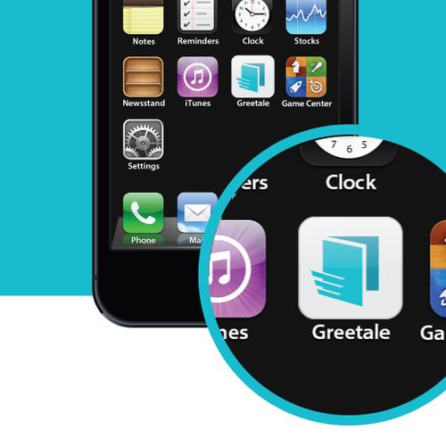 App logo with the title 'App logo design'