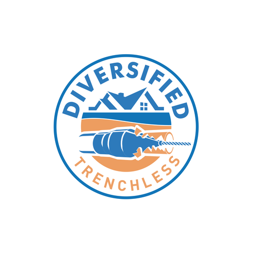 Heating logo with the title 'DIVERSIFIED TRENCHLESS'