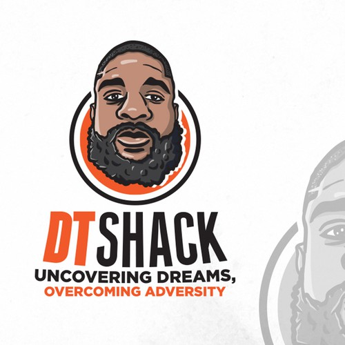 Face brand with the title 'DT SHACK'