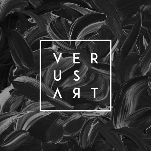Sans serif logo with the title 'Verus Art'