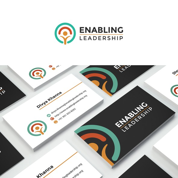 Kind design with the title 'Logo design'