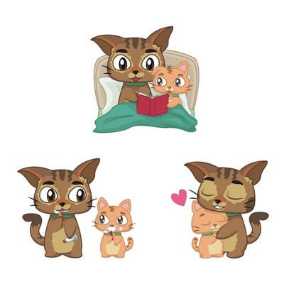 Family Habits Stickers