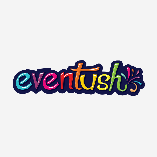 Wedding brand with the title 'Fun logo for event organisers'