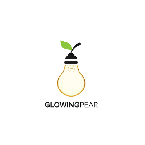 Discover logo with the title 'Glowing Pear'