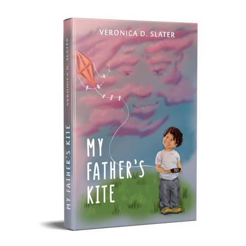 Boy book cover with the title 'My father's kite'