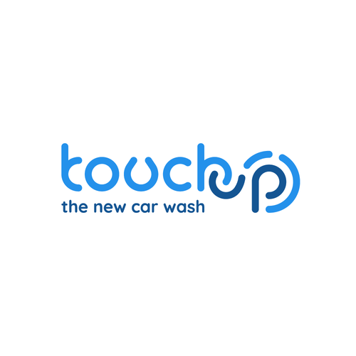 Touch logo with the title 'Touch up - The New Car Wash'