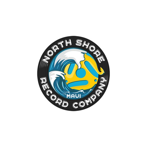 Aloha logo with the title 'North Shore Record Co.'