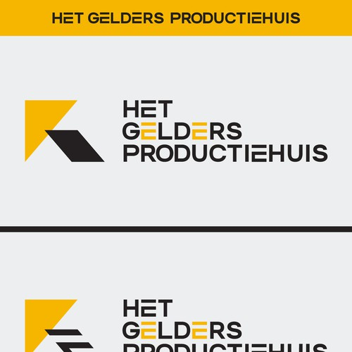 Production house logo with the title 'Logo for production company'