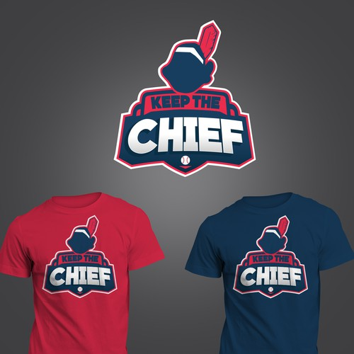Chief design with the title 'Keep The Chief'