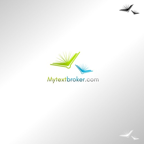 Broker logo with the title 'My Text Broker'