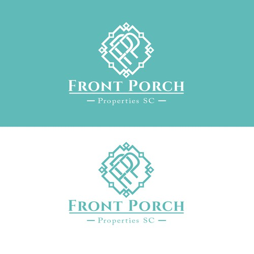 Border logo with the title 'Front Porch Properties SC'