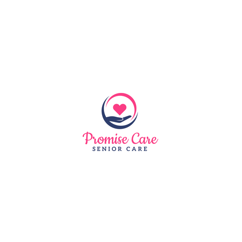 Senior design with the title 'Promise Care Logo'