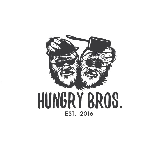 Hungry design with the title 'Hungry Bros.'