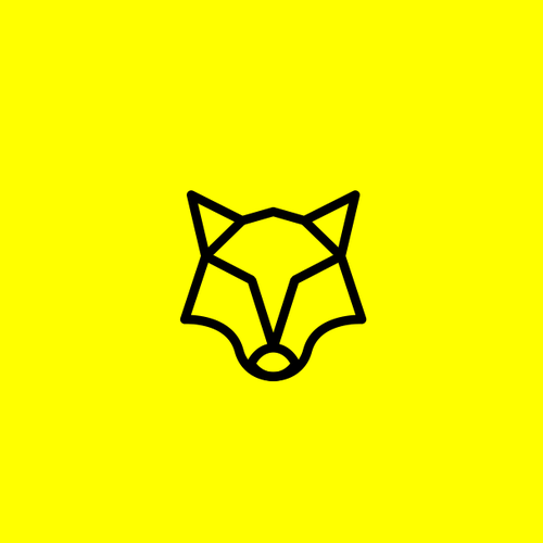 Video production logo with the title 'wolf monoline'