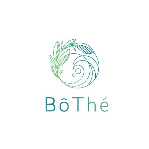 Ocean logo with the title 'Bôthé Logo'