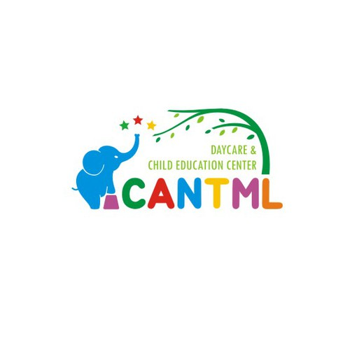 Daycare logo with the title 'Logo Concept for CANTML'
