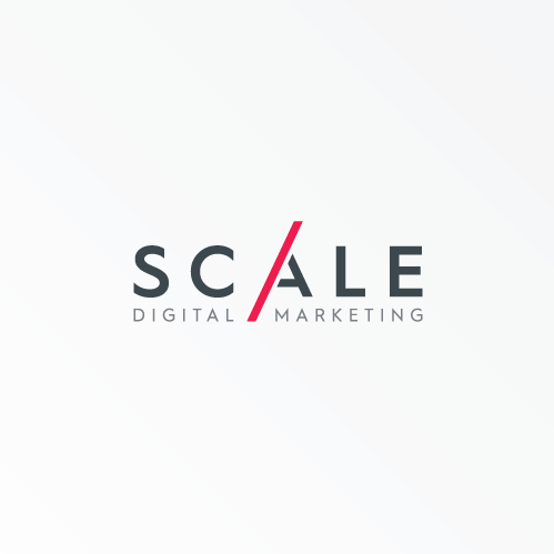 Marketing logo with the title 'Logo for Scale Digital Marketing'