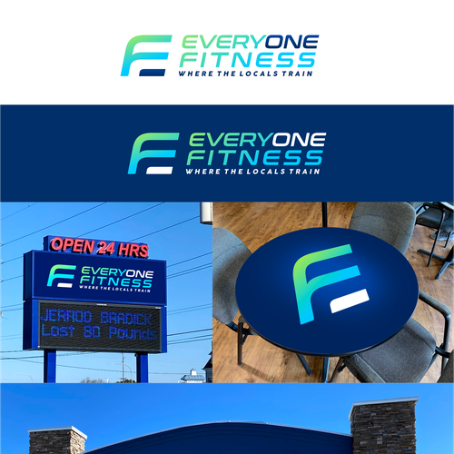 Wisdom design with the title 'Everyone Fitness'