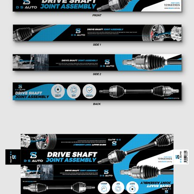 DS Auto Drive Shaft Box Design