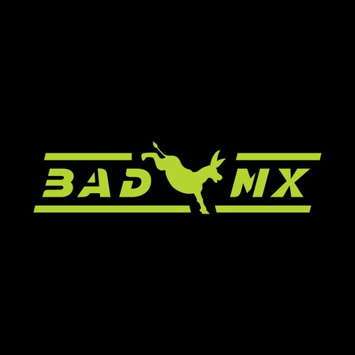 Design with the title 'Bad MX'