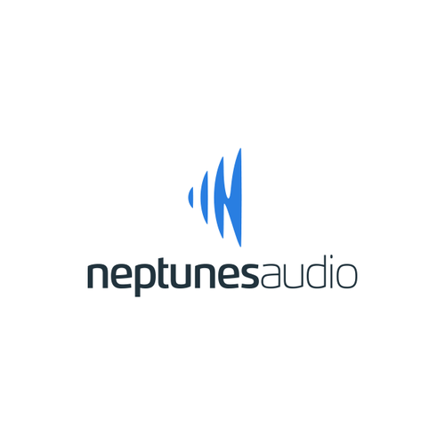 Candy logo with the title 'NeptunesAudio Logo'