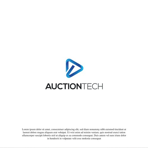 Iconic brand with the title 'Logo for Auction Company'