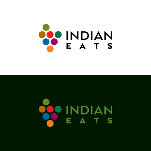 Country logo with the title 'Indian Eats_logo'