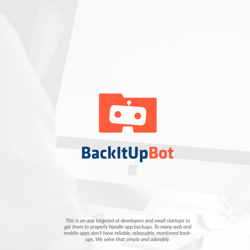Safety logo with the title 'Folder Bot'