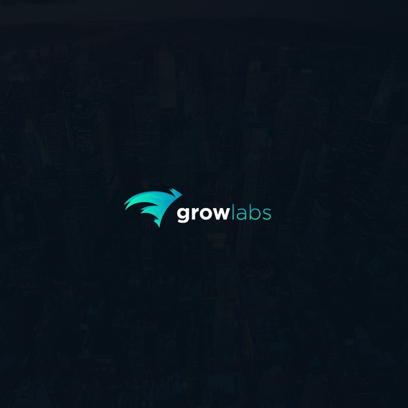 Impressive logo with the title 'Logo for GrowLabs'