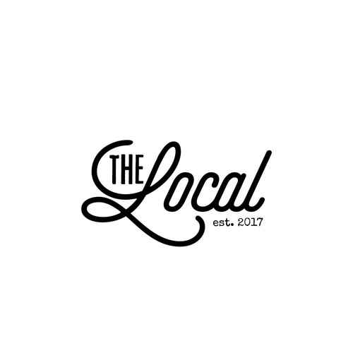 Typewriter logo with the title 'The Local - 1'