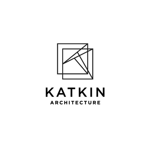 Architecture design with the title 'Katkin Architecture'