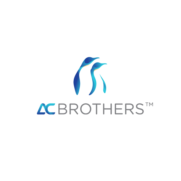 Penguin design with the title 'AC Brothers'