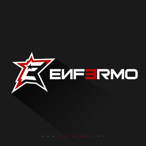 E design with the title 'enfermo'