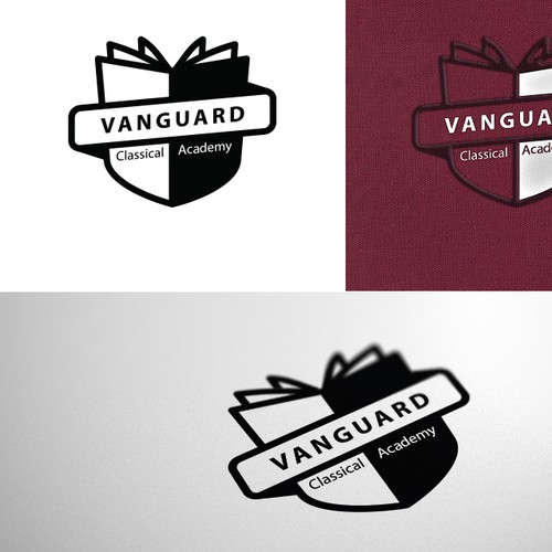 Classical design with the title 'New logo wanted for Vanguard'