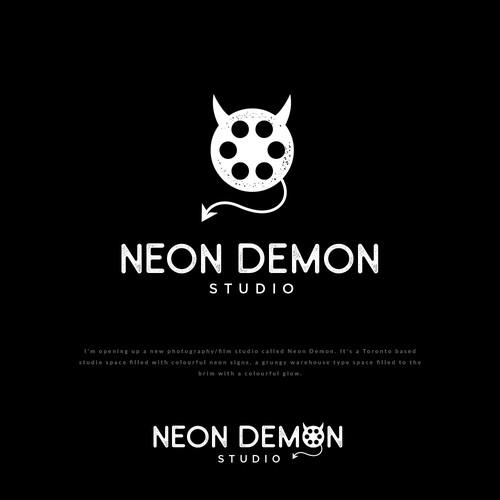 Neon logo with the title 'Neon Demon Studio'