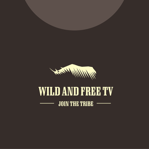 Rhino logo with the title 'Wild and Free TV'