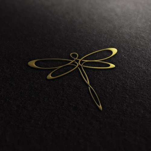 Dragonfly design with the title 'Ava Costa'