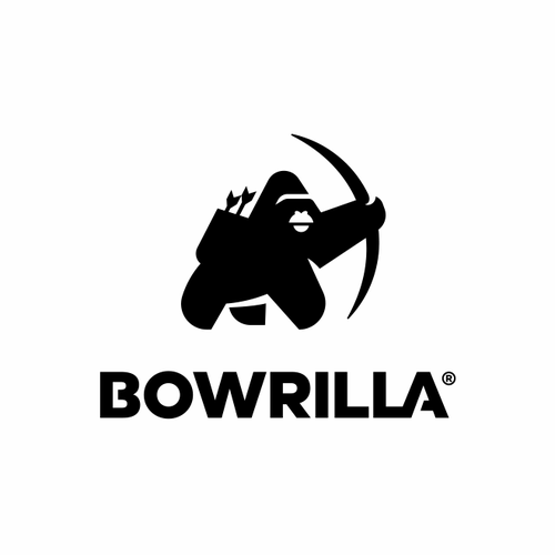 Archery design with the title 'Bowrilla'