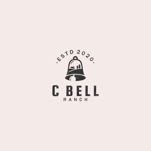 Bell logo with the title 'Bell & Ranch Logo'